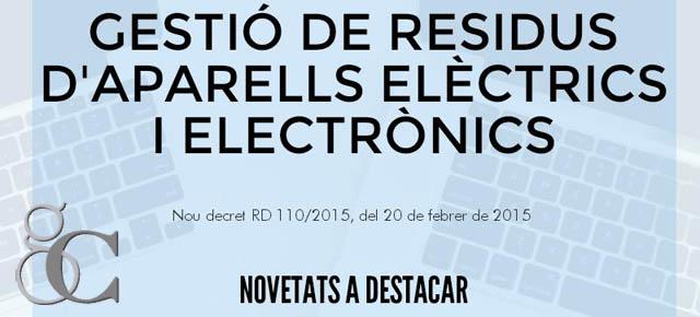 Gestió de Residus d'aparells elèctrics i electrònics
