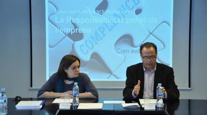 Grup Carles explica com afecta la reforma del codi penal a les empreses en un taller d'aplicació pràctica