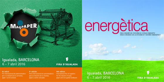 Maqpaper i Energètica 2016: bones perspectives per al sector paperer