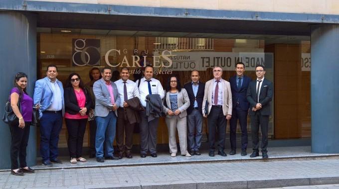 Recepció de la delegació del Ministeri d'Indústria i Federació Indústries del Cuir de Marroc per visitar el Clúster del Cuir d'Igualada
