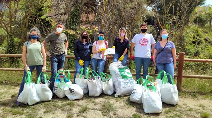 Grup Carles va participar en el Clean-up Day a Santa Margarida de Montbui